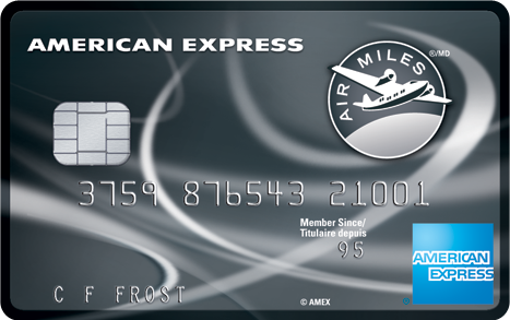 American Express AIR MILES Reserve Card