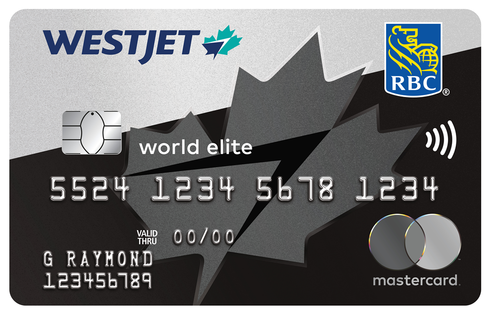 WestJet RBC World Elite Mastercard