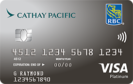 Canadas top travel rewards credit cards for 2018 rbc cathay pacific visa platinum reheart Images