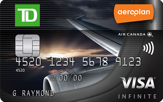 Canadas top travel rewards credit cards for 2018 td aeroplan visa infinite card reheart Image collections