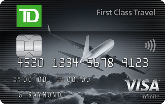 Canadas top travel rewards credit cards for 2018 td first class travel visa infinite card colourmoves
